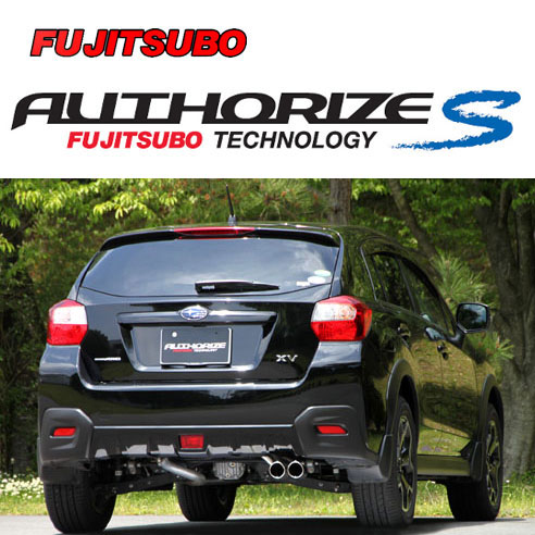 FUJITSUBO AUTHORIZE S Exhaust For GP7 XV 2 0 350 63093