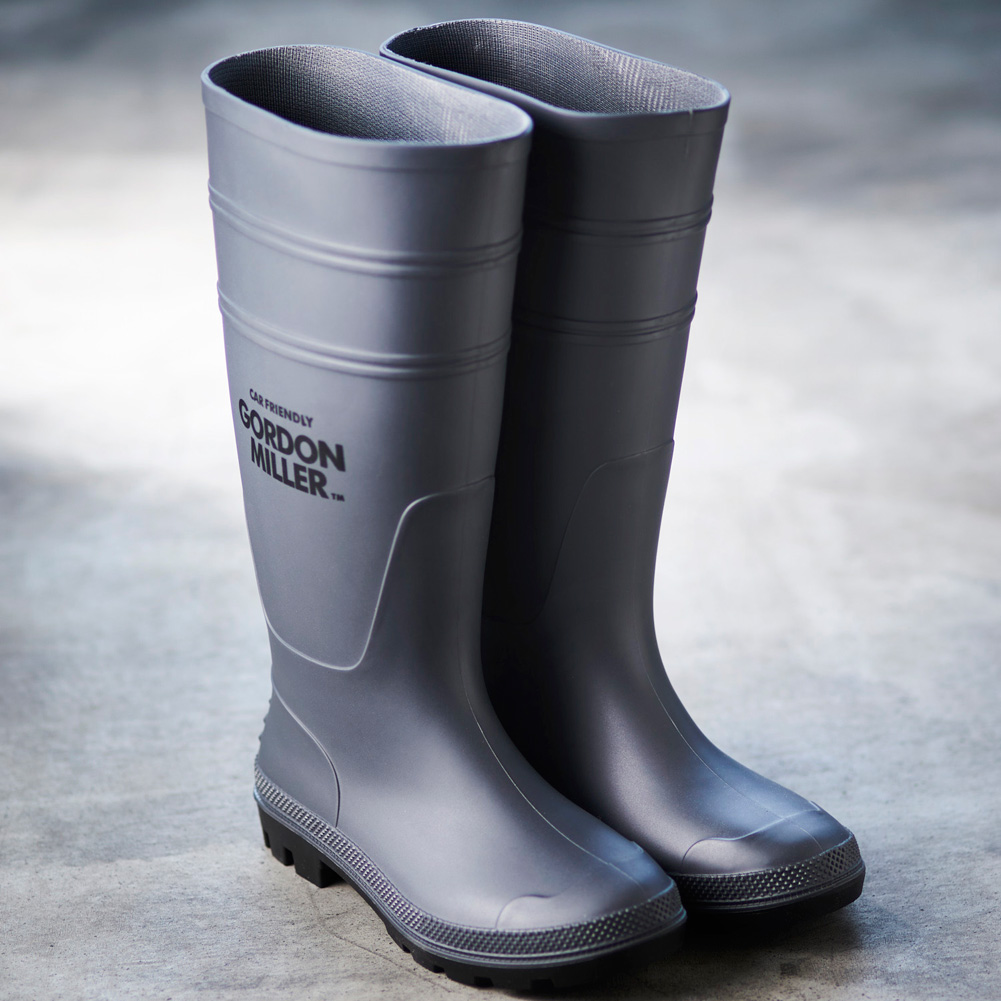 GORDON MILLER WATERPROOF BOOTS COOL M グレー