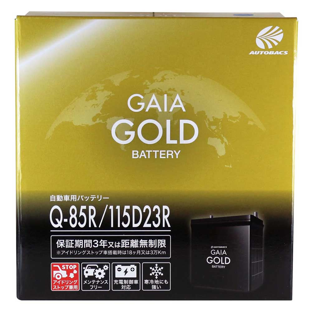 GAIA GOLD BATTERY Q85R/115D23R
