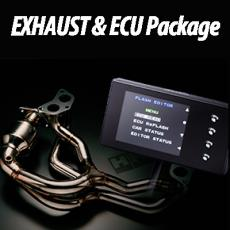 HKS EXHAUST&ECU PACKAGE...